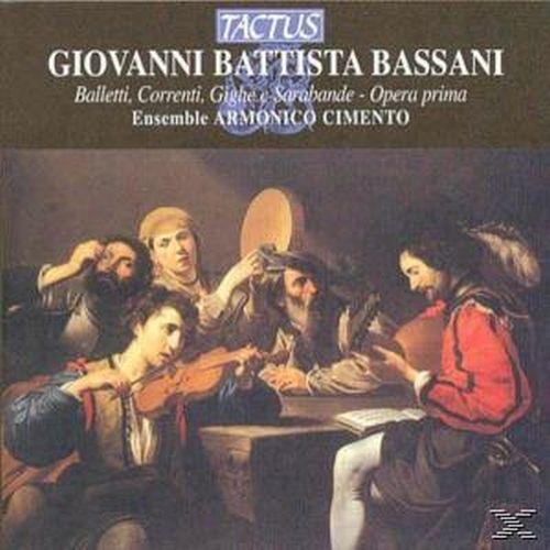 Balletti,Correnti...op.1 - ARMONICO CIMENTO [CD]