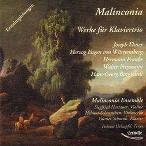 Werke Für Klaviertrio - MALINCONIA ENSEMBLE [CD]