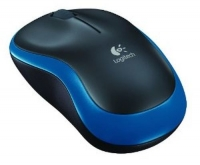 LOGITECH - WIRELESS MOUSE M185 BLUE